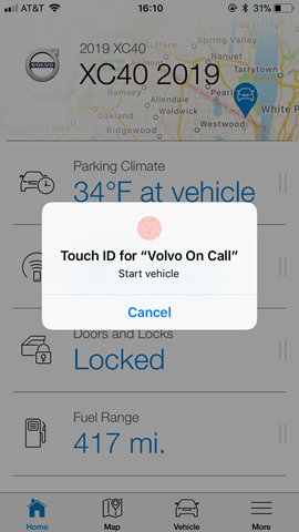 Volvo On Call 4 0 App