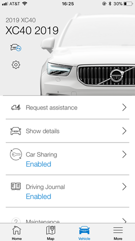 Volvo On Call 4 0 App